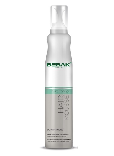 Bebak Bebak Hair Mousse 200ml Renksiz